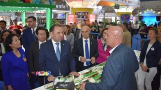 "Atomska Banja in China auf der dritten internationalen Messe ""Seidenweg""!"